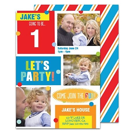 Birthday Invitations Birthday Invitation Templates Staples