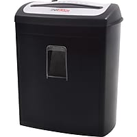 InfoGuard NX80P 8-Sheet Cross-Cut Paper Shredder with Pullout Bin (Black)