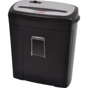 InfoGuard 10-Sheet Cross-Cut Paper Shredder with Pullout Bin