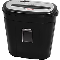 InfoGuard NX140P 14-Sheet Cross-Cut Paper / CD/DVD / Credit Card Shredder with Pullout Bin