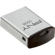 PNY 1/2 Metal 16GB USB 2.0 USB Flash Drive (Silver)