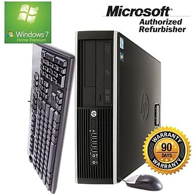 HP Compaq (Elite 8100) Refurbished Desktop, 2.93 GHz Intel Core i3, 4GB RAM, 250GB HDD, Windows 7 Home Premium 64-bit, English