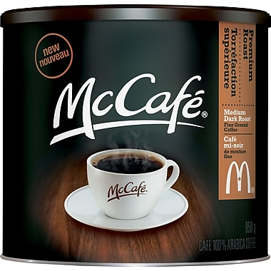 McCafe Premium Roast Ground Coffee, 950G Tin