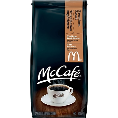 McCafe Premium Roast Ground Coffee, 340G Bag