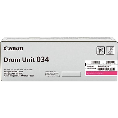 Canon® – Cartouche de toner magenta 034 (9452B001)