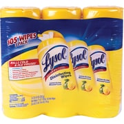 Lysol® Disinfecting Wipes, Lemon and Lime Blossom Scent, 3 Pack