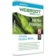 Webroot Antivirus for Windows/Mac (1-3 Users) [Download]