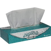 Angel Soft Professional Series™, White Premium Facial Tissue, Flat Box, 100 Sheets/Box, 30 Boxes/Case, (48580)