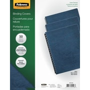Fellowes Expressions Binding Presentation Covers, Oversize Letter, 50 Pack, Navy