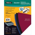 Fellowes Executive Binding Presentation Covers, Oversize Letter, 50 Pack, Black