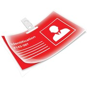 Fellowes Laminating Pouches Id Tag Size 5 Mil 25 Pack