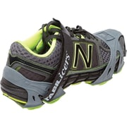 STABILicers  Run Icecleats, Gray/Green, Small, Men's 6-8/Women's 7.5-9.5, Pair