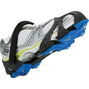 STABILicers  Run Icecleats, Black/Blue, Medium, Men's 8-10.5/Women's 9.5-11, Pair