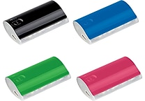 5200mAh Power Bank with LED Light Strip and Charge Indicator, Assorted Colors