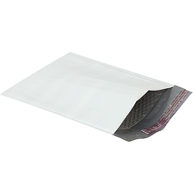 Staples® #0 Bubble Mailer, White Poly, 6