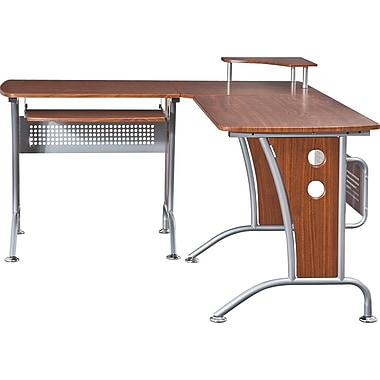Techni Mobili RTA-3806 Computer Desk, Mahogany