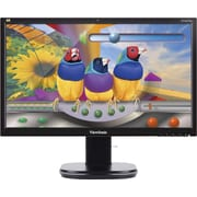 "ViewSonic VG2437Smc 23.6"" 1080p Webcam Monitor with Ergonomic Stand"