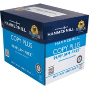 "HammerMill® Copy Plus Copy Paper, 8 12"" x 11"", 5 Ream Case"