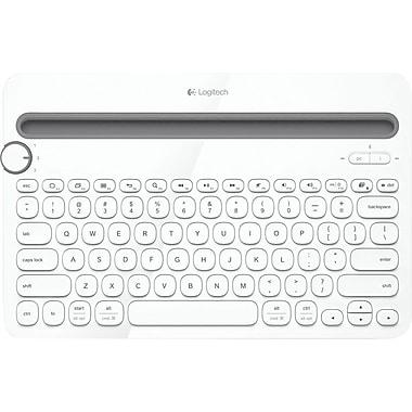 Logitech - Clavier K480 Bluetooth multi-dispositifs, blanc
