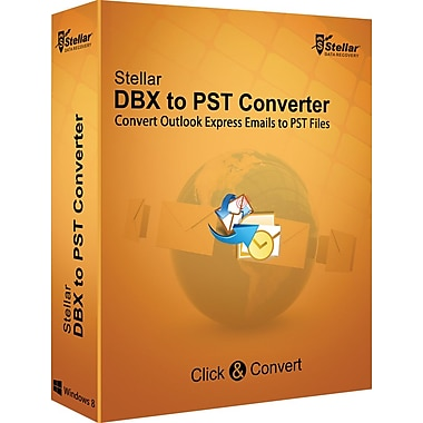 Stellar DBX to PST Converter for Windows (1 User) [Download]