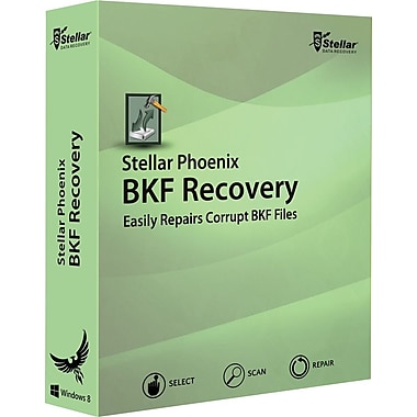 Stellar Phoenix BKF Recovery for Windows (1 User) [Download]