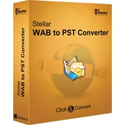 Stellar WAB to PST Converter for Windows (1 User) [Download]