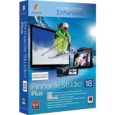 Pinnacle Studio 18 Plus for Windows (1 User) [Download]