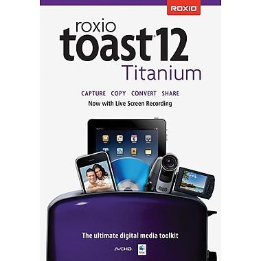 Roxio – Toast 12 Titanium pour Mac (1 utilisateur) [Téléchargement]
