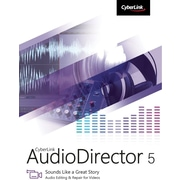 CyberLink AudioDirector 5 for Windows (1 User) [Download]