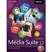 CyberLink Media Suite 12 Ultimate for Windows (1 User) [Download]