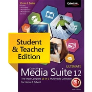 CyberLink Media Suite 12 Ultimate Student & Teacher Edition (Windows)