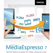 CyberLink MediaEspresso 7 Deluxe for Windows (1 User) [Download]