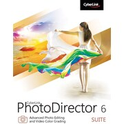 CyberLink PhotoDirector 6 Suite for Windows (1 User) [Download]