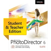 CyberLink PhotoDirector 6 Suite - Student & Teacher Edition for Windows (1 User) [Download]