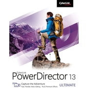 CyberLink PowerDirector 13 Ultimate for Windows (1 User) [Download]
