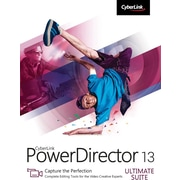 CyberLink PowerDirector 13 Ultimate Suite for Windows (1 User) [Download]