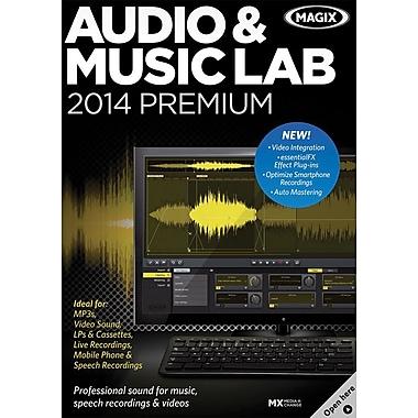 MAGIX – Audio et Music Lab 2014 Premium pour Windows (1 utilisateur) [téléchargement]