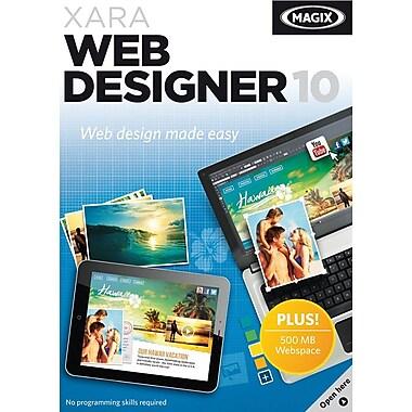 Logiciel de création de sites Web Xara Web Designer 10 pour Windows (1 utilisateur) [téléchargement]