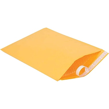 Staples Bubble Cushioned Kraft Mailer #7