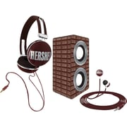 Candeez 3-in-1 Stereo Combo Pack (Headphones, Ear-Buds and Speaker) - Hershey's