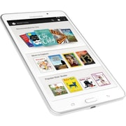 Refurbished Samsung Galaxy Tab 4 7 NOOK Tablet - 8GB, White, SM-T230NU