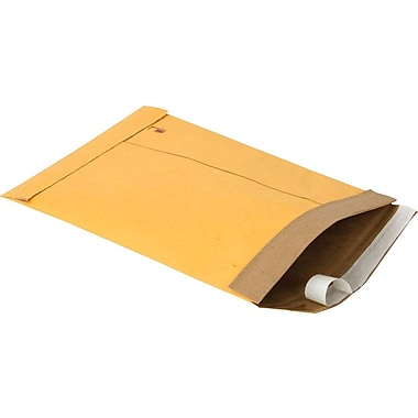 Staples #1 Padded Mailer, Gold Kraft, 7-1/8