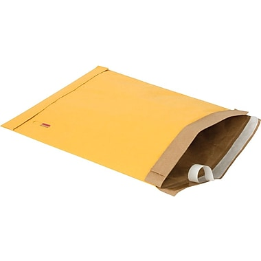 Staples Gold Kraft Padded #4 Mailer, 9 3/8