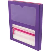 Designed By Students Super Folder Purple/Pink