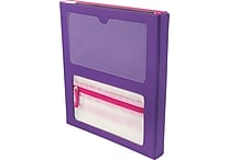 Designed By Students Super Folder Purple/Pink