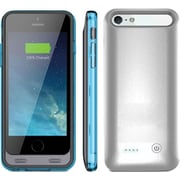 ARMORLITE 2400 mAh iPhone 6 Battery Case - Silver / Blue