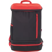 Designed By Students Back2Back School Backpack Black/Red