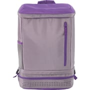 Designed By Students Back2Back School Backpack Grey/Purple