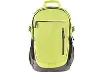 Designed By Students Accordion Backpack Neon Green/Grey