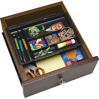 Dial drawer doubler black 2dxk staples - Desk organizer drawers ...
